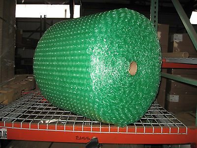 """Large 1/2"""" Green Recycled Bubble, 24"""" x 125' Per Order w/ Free Shipping"""