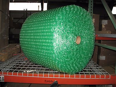 """Large 1/2"""" Green Recycled Bubble, 24"""" x 125' Per Order"""