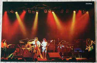 Uriah Heep poster 1975 David Byron John Wetton Return To Fantasy on stage live!