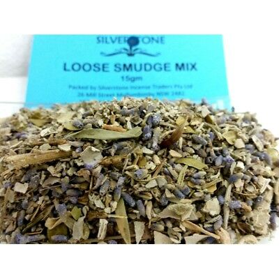 Loose Smudge Mix - 15 grams - Smudging Clearing Ritual House Herbs Sage Sages