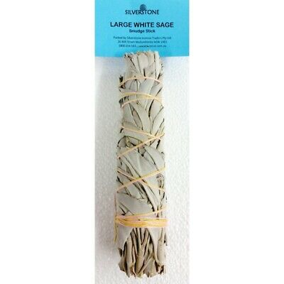 Large White Sage Smudge Stick - Smudging Clearing Ritual House Herbs Sage Sages