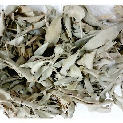 Loose White Sage - 50 grams - Smudging House Clearing Ritual Herbal Sage Saging
