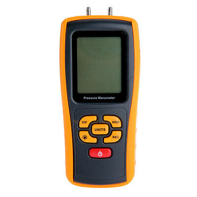 GM510 USB Digital Differential Pressure Manometer Gauge Meter Tester 10kPa