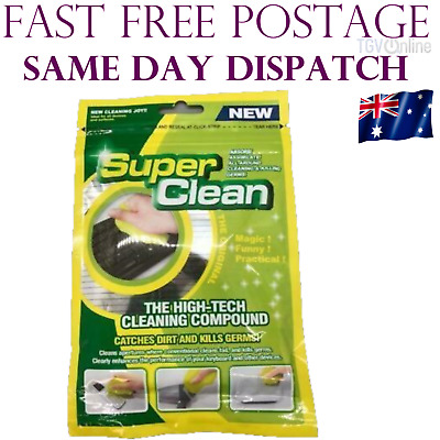 2 x Cyber Super Clean Magic Dust Cleaning Compound Gel Keyboard Cleaner Dirt