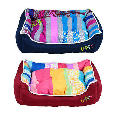 Removable Soft Puppy Dog Cat Pet Bed Home House Nest Cushion Blanket Mat Basket