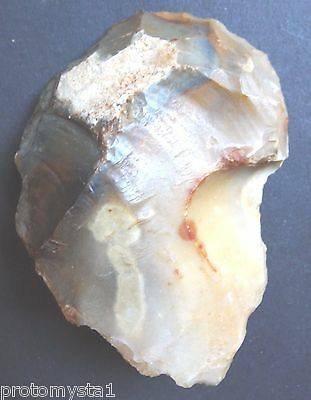 """SCRAPER FLINT FRANCE """"Paris Basin""""  MESOLITHIC / NEOLITHIC FRENCH PREHISTORY"""