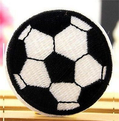 FD3612 Children Football Badge Applique Embroidered Sticker Sewing DIY Patch ✿