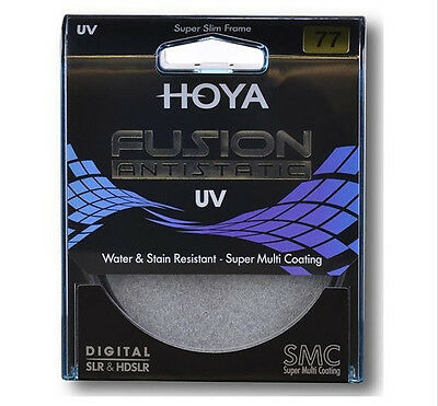 [HOYA] Fusion Antistatic UV Camera Filter 58mm / Water&Stain Resistant