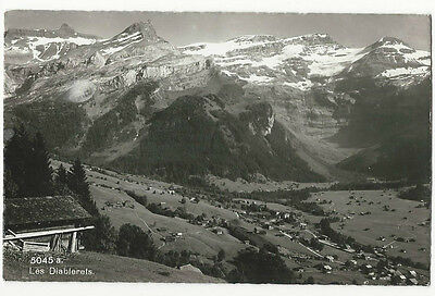 Switzerland - Les Diablerets - Vintage Real Photo Postcard