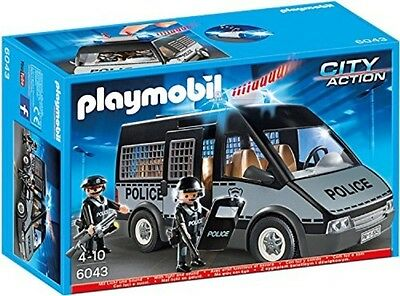 Playmobil Police Van with Lights and Sound