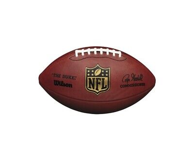 "*brand New* Wilson Nfl ""the Duke"" - American Football - Official Size - Tan"