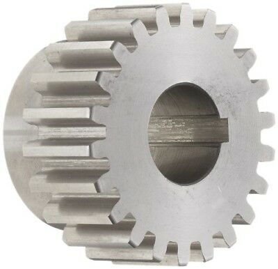 Boston Gear ND18B Spur Gear, 14.5 Pressure Angle, Steel, Inch, 12 Pitch, 0.62...