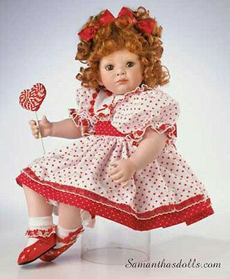 "Marie Osmond 2002 ""I Love You Lolli"" 15-Inch Porcelain"