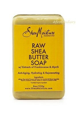 Shea Moisture Raw Shea Butter Soap 8oz