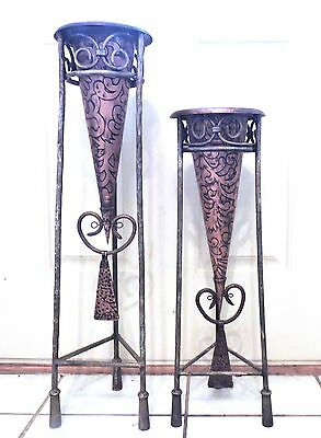 Copper & Metal Plant Stands