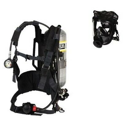II 2216 Self Contained Breathing Apparatus With Nylong Harness With Chest Str...