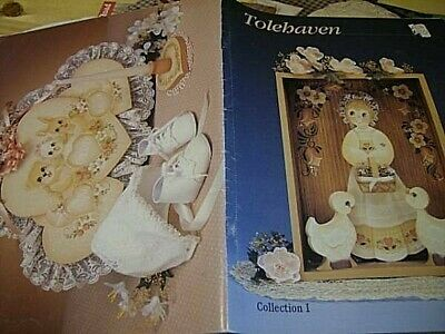 Tolehaven Painting Book #1- Anderson, Teddy Train, People, Birds, Hearts