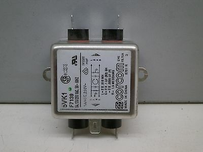 Corcom 5VK1 F7139 RFI Power Line EMI Filter 5A 120/250V AC Quick Connect
