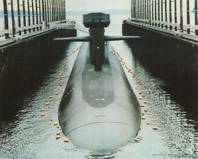 Small Poster : Atomic Submarine  - Free Shipping !  #29-613  Rc11 E
