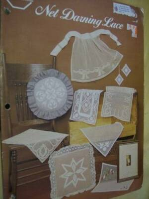 Net Darning Lace Craft Booklet By Jayne Varrone-10 Designs/Projects