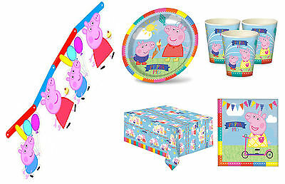 Peppa Pig Party Supplies Carnival Complete Kits For 8 16 24 Guest