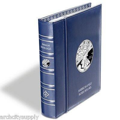 Lighthouse: American Silver Eagle Coin Album - 1986-2021       Lh-Cleagleset