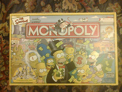Simpsons Monopoly Game Set
