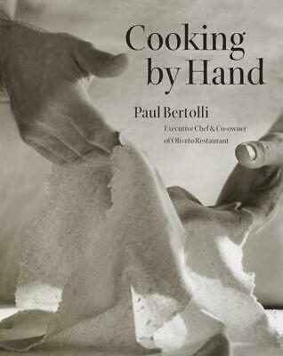 Cooking by Hand by Paul Bertolli (English) Hardcover Book Free Shipping!