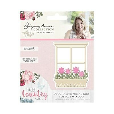 Crafters Companion Cottage Window English Country Garden Metal Die S-ENG-MD-WIND