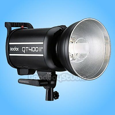 Godox QT-400II QT-400IIM 400W 2.4G High Speed Studio Strobe Flash Light Head