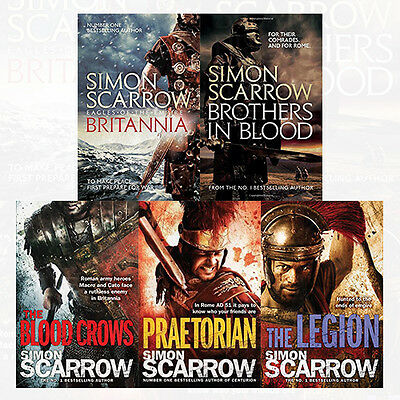 Eagles of the Empire (10 to 14) Collection 5 Books Set Pack By Simon Scarrow NEW