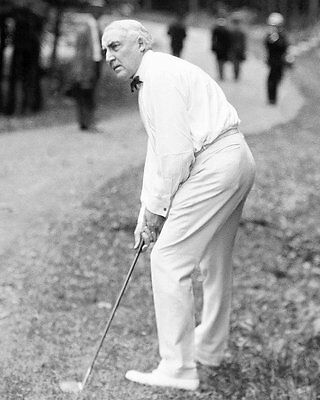 President Warren G. Harding Playing Golf - 8X10 Photo (Bb-811)