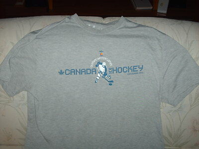Olympic Winter Games - Vancouver 2010 - Canada Hockey - T Shirt - Adult L