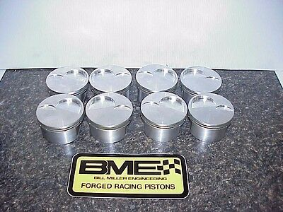 "8 NEW BME Pistons 4.155-1.360"" Compression Height for 927 Pin for SB2.2 Chevy RS"