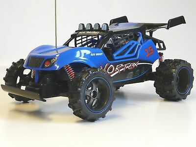 RC Buggy Baja Vortex 1:14 27MHz blau New Bright 1440