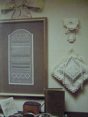 Cross 'N Patch A Stitch In Time Hardanger Sampler Cross