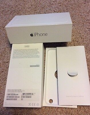 Iphone 6 space grey 64Gb EMPTY BOX no accessories