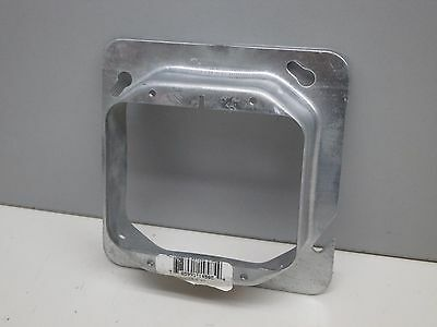 "(25) Steel City 72C21 Cover Mud Ring 2-Device 4-11/16"" Square x 1-1/4"" 820 606-A"