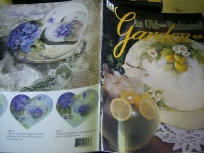 An Old Fashioned Garden Painting Book #2-Nuttall Lemons, Holly Wreath, Poppies,