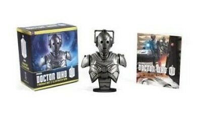 Doctor Who: Cyberman Bust and Illustrated Book by Paperback Book (English)
