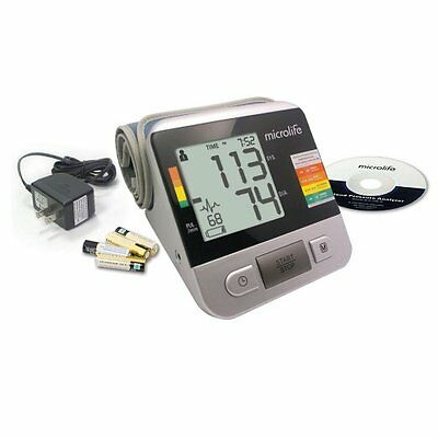 ** NEW ** Microlife Bp3na1-1x Deluxe Automatic Digital Blood Pressure Monitor