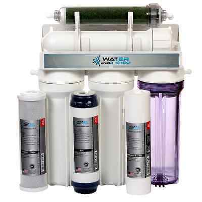 5 Stage Aquarium Reef Reverse Osmosis (RO/DI) Water Filter System - 150GPD - USA