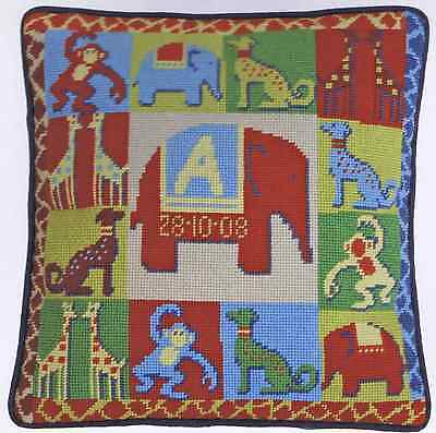 One off Tapestry Needlepoint Kit - Zoo by Wendy Hope-Falkner