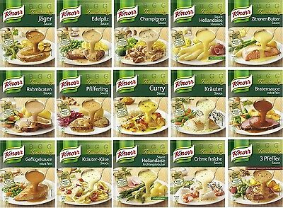KNORR GERMANY - Gourmet Sauce - Choise your favorite