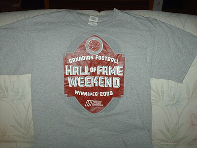 Canadian Football Hall Of Fame - Manitoba lotteries  - T Shirt - Adult M