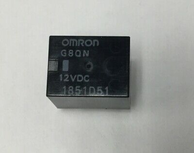 OMRON G8QN Micro Mini Automotive PCB Relay Lot of 10