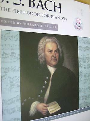 J. S. Bach First Book For Pianists Music Book With CD