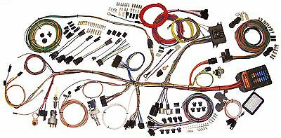 62-67 Nova Chevy II American Autowire Classic Update Wiring Harness  510140