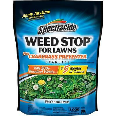 Spectracide Weed Stop for Lawns Plus Crabgrass Preventer with 10.8 lb. Granules