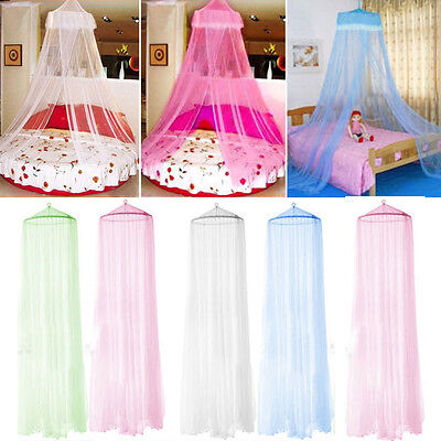 Elegant Lace Bed Canopy Netting Curtain Fly Midges Insect Cot Mosquito Net NEW